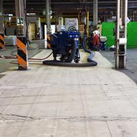 Preparazione superficie mediante pallinatura per trattamento con resina