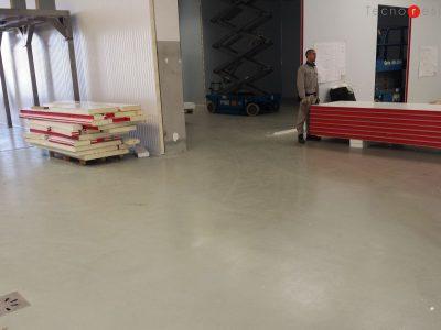 Pavimento in resina per l'azienda alimentare Giorgio Mare