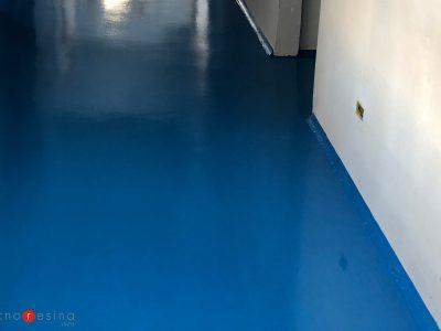 Pavimento sterile in resina per la cucina degli Ospedali Riuniti di Ancona