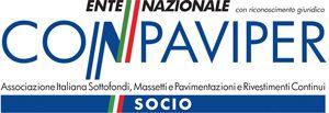 Tecnoresina Vernici è socio dell'ente nazionale CONPAVIPER Associazione Italiana Sottofondi, Massetti e Pavimentazioni e Rivestimenti Continui