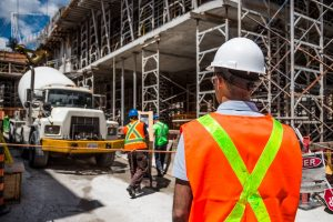 Lavoro capo squadra cantiere edile