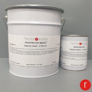 Vernice epossidica vetrificante per alimenti Enovitro F401 bianco 5Kg
